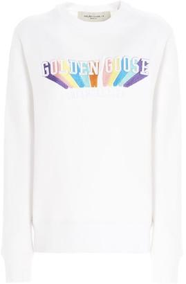 Golden Goose athena Rainbow Sweatshirt