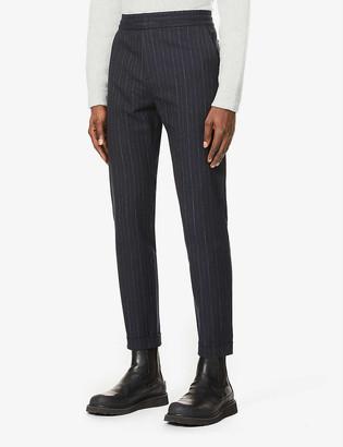 Paul Smith Drawcord-waist pinstripe trousers