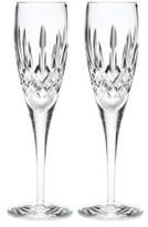 Waterford Crystal Lismore Nouveau Flute, Pair