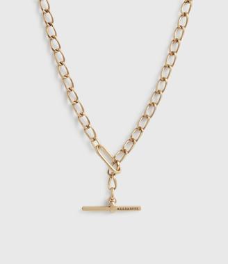 AllSaints Eartha Gold-Tone Chain Necklace