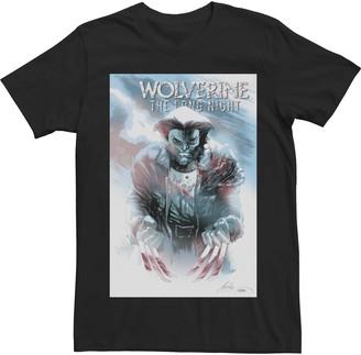 Wolverine Men's Marvel The Long Night Poster Tee