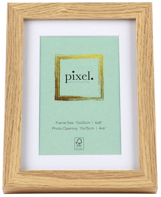 Pixel Photo Frames Pixel Natural Photo Frame 15x20cm with 10x15cm Opening