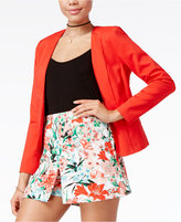XOXO Juniors' Collarless Blazer