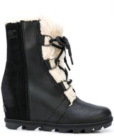 Sorel suede panel lined boots