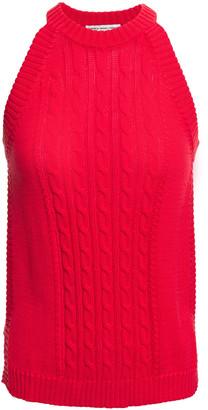Cotton By Autumn Cashmere Cable-knit Cotton Top