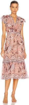 Ulla Johnson Celestia Dress in Blush | FWRD