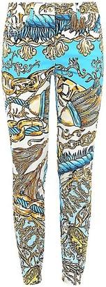 Moschino Printed Stretch Leggings