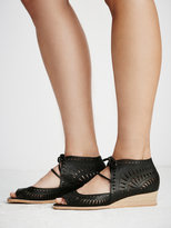 Free People Serena Mini Wedge