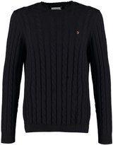 Farah Norfolk Jumper Black