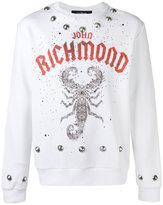 John Richmond scorpion print sweatshirt - men - Cotton/Polyester - XL