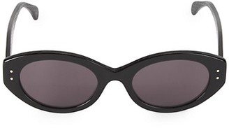 Alaia 52MM Oval Sunglasses