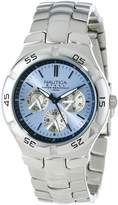 Nautica Men's N10075 Metal Round Multifunction Watch