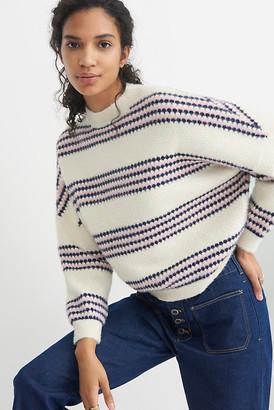 Raga Vivianna Eyelash Sweater By in White Size L