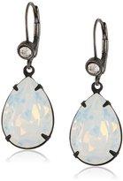 Liz Palacios White Opal Large Teardrop Earrings