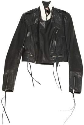 Haider Ackermann Brown Leather Jackets