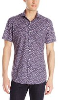 Stone Rose Men's Ditsy Print Shirt