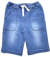 Preview Stitch Denim-Look Shorts