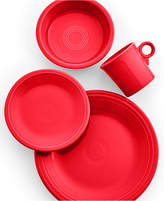 Fiesta Scarlet 4-Piece Place Setting