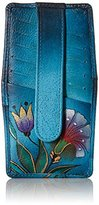 Anuschka Handpainted Leather 1729-TKG-D Credit Card Holder