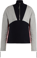 Marni High-neck stretch-cotton ribbed-knit sweater