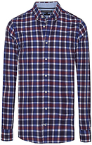Tommy Hilfiger Berny Checked Shirt, Blackberry Cordial