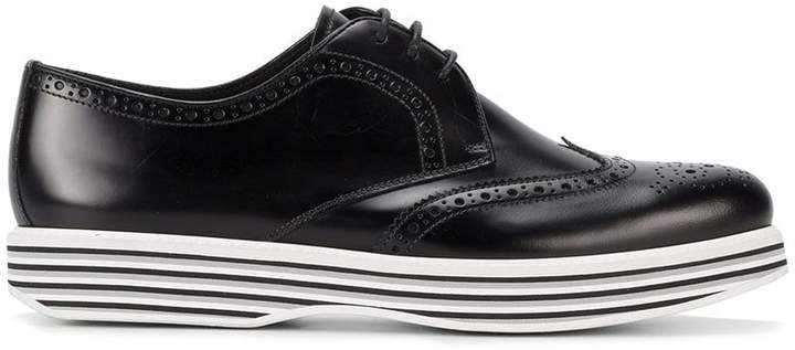Church's Ruby platform brogue shoes