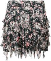 Etoile Isabel Marant ruffled mini skirt - women - Viscose - 40