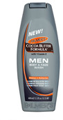 Palmers Cocoa Butter Formula MEN Body & Face Wash 400ml