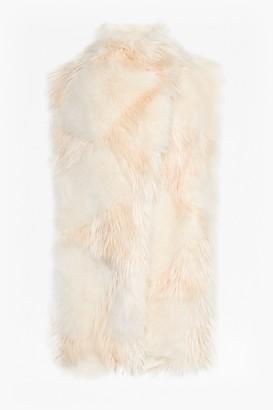 French Connection Marion Faux Fur Wrap Gilet