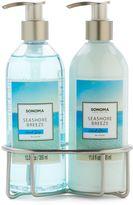 SONOMA Goods for LifeTM Seashore Breeze Bath Caddy Gift Set