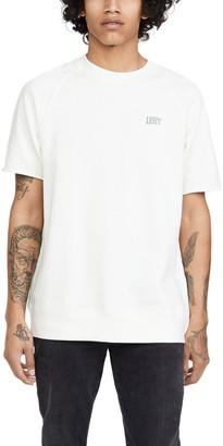 Levi's Crew Neck Cutoff Sweatshirt