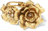 Banana Republic Elizabeth Cole | Limited Edition Gold Floral Bracelet