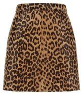 SET Haircalf Finish Leather Skirt