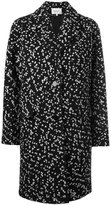 Carven oversized tweed coat - women - Cotton/Acrylic/Polyamide/Wool - 36