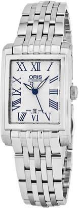 Oris Women's Rectangular Date Watch