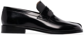 Maison Margiela Tabi Advocate leather loafers