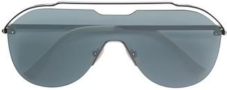 Fendi Eyewear Oversized Aviator Frame Sunglasses