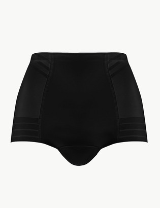 Marks and Spencer Magicwear Geometric Firm Control Low Leg Knickers
