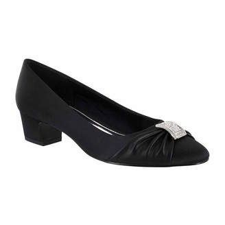 Easy Street Shoes Womens Eloise Pumps Round Toe Block Heel
