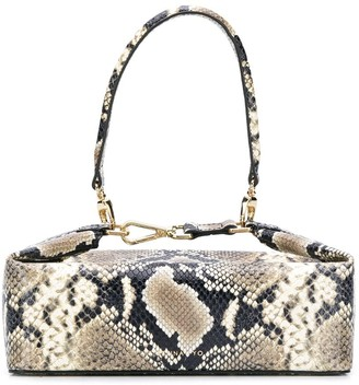 REJINA PYO Olivia snake box bag