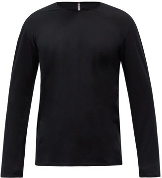 Veilance Frame Merino Wool-blend Long-sleeved T-shirt - Black