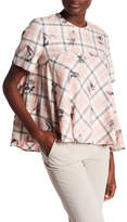 Paul & Joe Sister Pawl Babydoll Bird Blouse