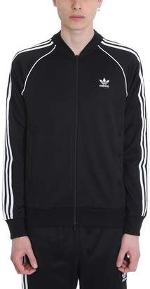 adidas Black Cotton Sst Tt Jacket