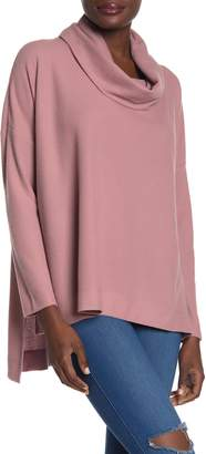 Sweet Romeo Ady P Cowl Neck High/Low Sweater