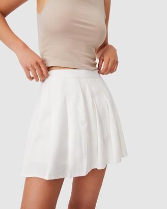 Cotton On Pleated Tennis Mini Skirt