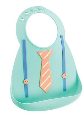 Make My Day, Inc. Make My Day Baby Bib, Tie & Suspenders