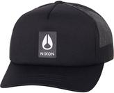 Nixon Badge Foam Trucker Cap Black