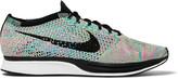 Nike Running Flyknit Racer Mesh Sneakers