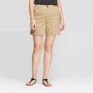 "A New Day Women's 7"" Chino Shorts"