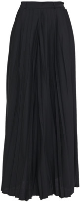Each X Other Pleated Woven Wide-leg Pants